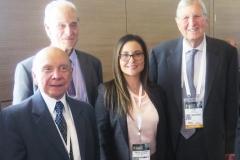 Pedro Carmona Estanga, Alberto Cisneros, Paula Rodríguez y Hans Krause