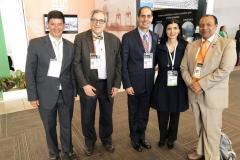 Carlos Guillermo López, Manuel Hoyos, Gerardo Villela, Diana Hernández y William Florez