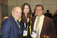 Rafael Herz, Angie Pardo y Omar Aguilera