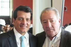 Un encuentro fortuito: Felipe Alayón, Presidente Ecopetrol, y Jorge Zajia, Editor Petroleum