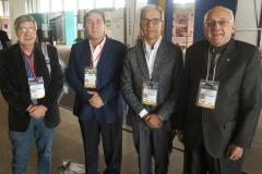 Vincenzo Paglione, Jesús Bejarano, Nelson Navarrete y Alfredo Gruber