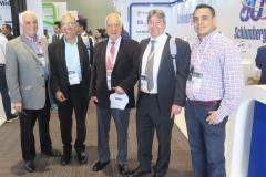 Jorge García, Carlos Rodríguez, Pedro Martínez, Ricardo Correa y Alex Reyna