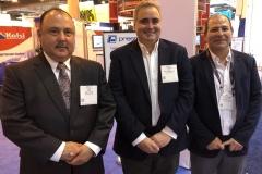 Los profesionales de BSI Vexon: Luis Cantú, José Blesa y Alejandro Guzmán