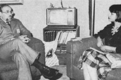 (1985) - En conversación con el experto en relaciones públicas de Lagoven, Luis Moreno Gómez