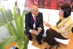 (2012) - Hernando Barrero, Expresidente de Acipet, habló con Zulay sobre el trabajo de la Asociación en defensa de los derechos de los ingenieros petroleros colombianos