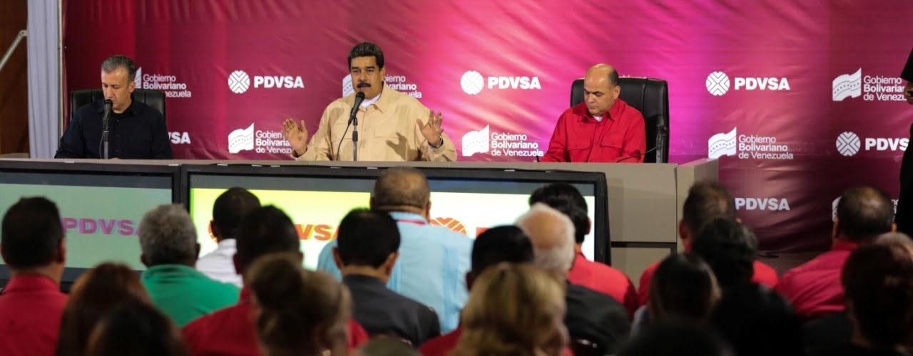Maduro: La Revolución Productiva arranca en PDVSA