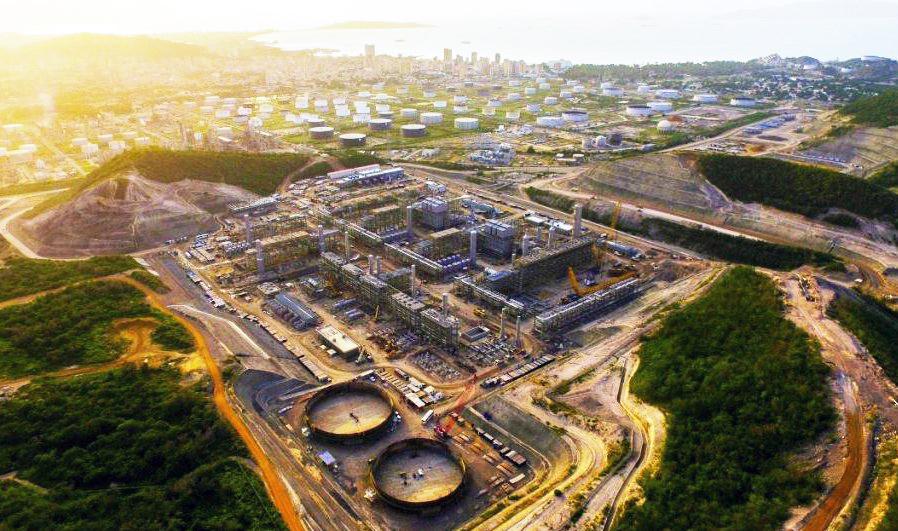 Proyecto de Conversión Profunda en la Refinería de Puerto La Cruz