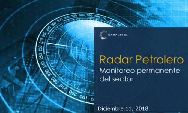 Radar Petrolero | Edición 11 de Diciembre 2018