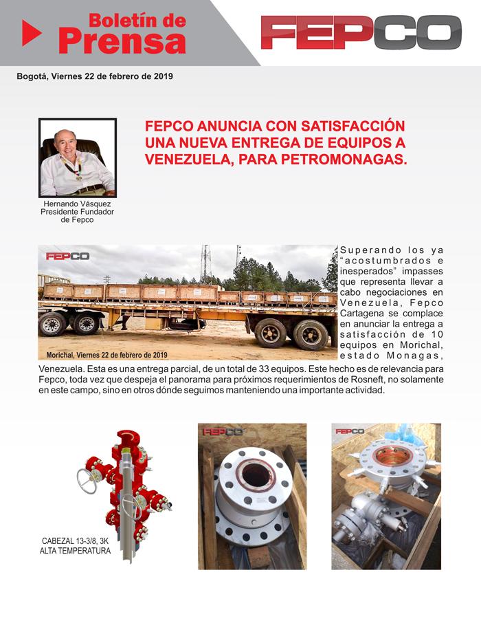 FEPCO Boletin de Prensa