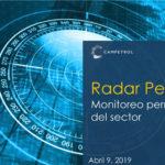 Radar Petrolero | Abril 09-2019