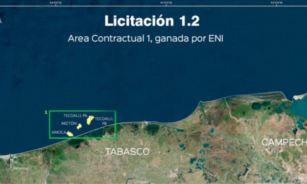 Eni inicia producción costafuera de México