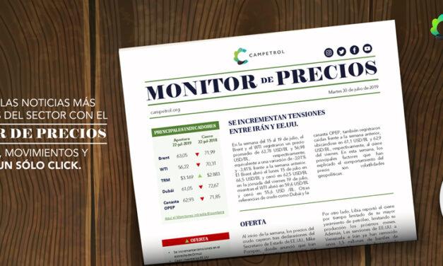CAMPETROL: Monitor de Precios | Mayo 27, 2020