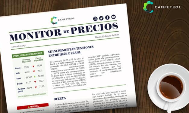 CAMPETROL: Monitor de Precios | Sep 16, 2019