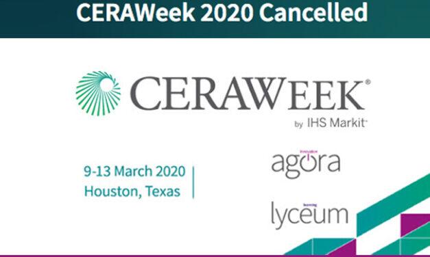 CERAWeek por IHS Markit 2020 está cancelada