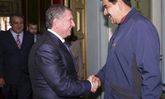 Rosfnet se hunde con Maduro