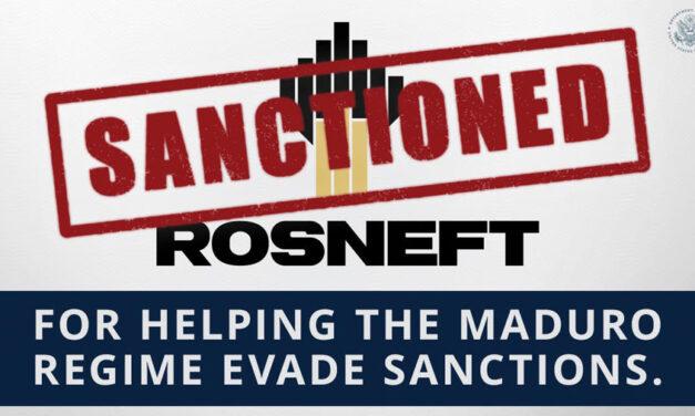 PDVSA rechazó las medidas contra ROSNEFT