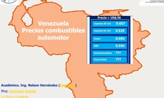 El Futuro de la Energía y Precios de los Combustibles en Venezuela