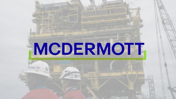 McDermott sale de la bancarrota