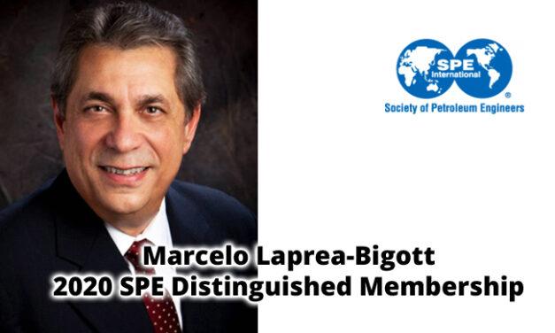 Marcelo Laprea-Bigott  2020 SPE Distinguished Membership